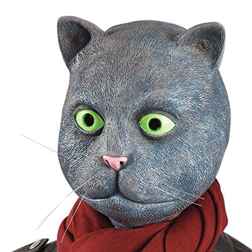 - Katze Latex Maske