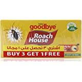 Habro Goodbye Roach House Cockroach and Insect Glue Traps 5 Pieces (Pack of 4)
