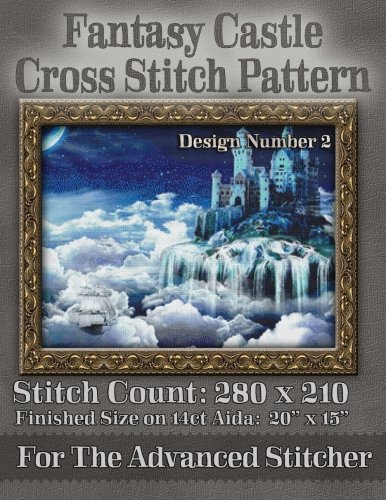 Fantasy Castle Cross Stitch Pattern: Design Number 2