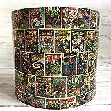 Marvel Comics Strip Handmade Gaming Themed Kids room Ceiling Lampshade