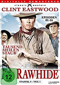 Rawhide - Staffel 2 - Teil 1 (Episoden 01-16) (Classic Western) [4 DVDs]