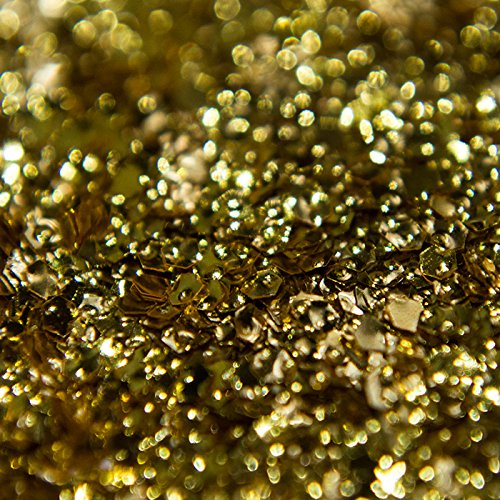 Große 100g sfxc® Blattgold Prägung Glitzer für Kunst und Handwerk