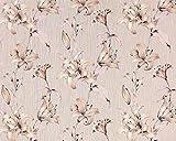 Vliestapete 3D Blumentapete Floral EDEM 978-33 Luxus design fühlbare Prägung altrosa pastell rosa beige 10,65 qm
