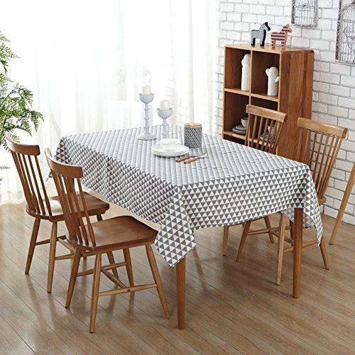 Demiawaking sur toile Nappe Chiffon de table de salle à manger pour maison Hotel Cafe Restaurant Art japonais 140cm*140cm