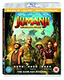 Jumanji: Welcome To The Jungle [Blu-ray 3D] [2017] [Region Free]