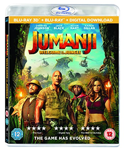 Jumanji: Welcome To The Jungle [Blu-ray 3D] [2017] [Region Free]