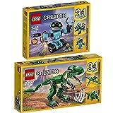 Lego Creator 3-in-1 2er Set 31058 31062 Dinosaurier + Forschungsroboter
