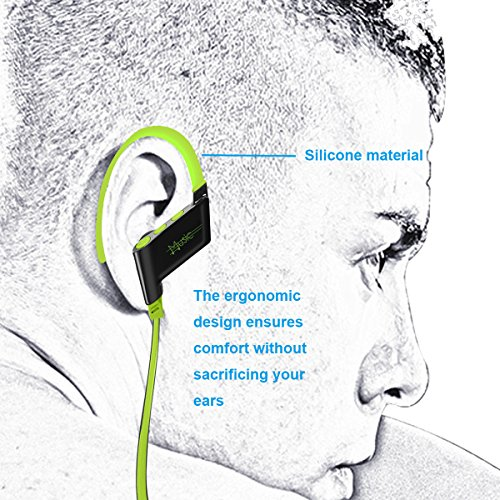 KELODO Sportarmband Handyhülle Universal Sport Armbänder Tasche für Handys Tragehülle bis zu 5.5 Zoll Bildschirm für iPhone 7Plus, 7, 6, 6s, Samsung S6 / S6 edge, Samsung S7 und Weitere, mit Schlüssel Gr¨¹n