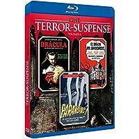 Terror y Suspense Vol. 1 - 3 BD Horror de Dracula + Barón Sardonicus + Alucinante Mundo de los Ashby