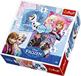 Disney Trefl 916348104-in-1Frozen puzzle