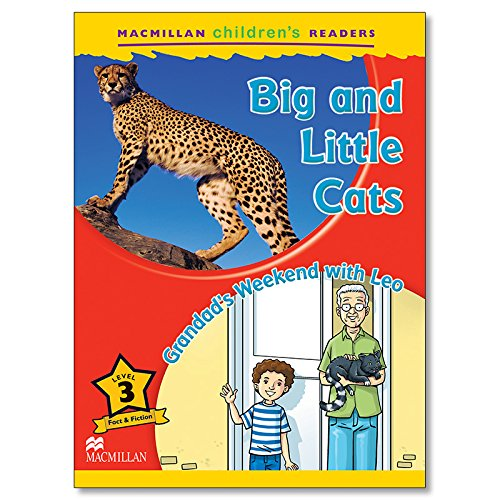 MCHR 3 Big and Little Cats (Macmillan Children's Readers) - 9780230469211