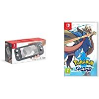 Nintendo Switch Lite - Grey + Pokemon Sword