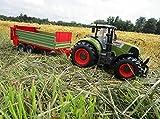RC Traktor CLAAS Axion 850 mit Anhänger-Stalldungstreuer 1:16