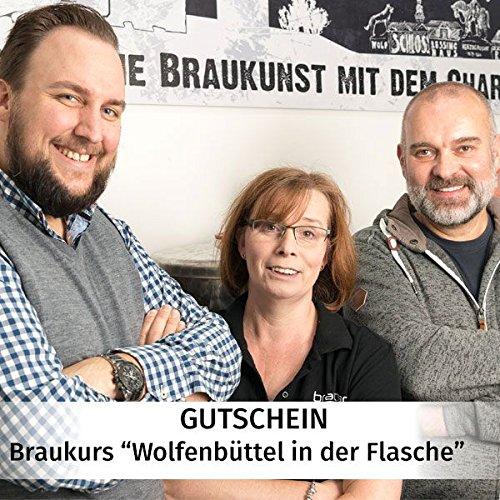 """Gutschein Braukurs """"Wolfenbüttel in der Flasche"""" - Bierbraukurs in Wolfenbüttel - STEBNER Privatbrauerei"""