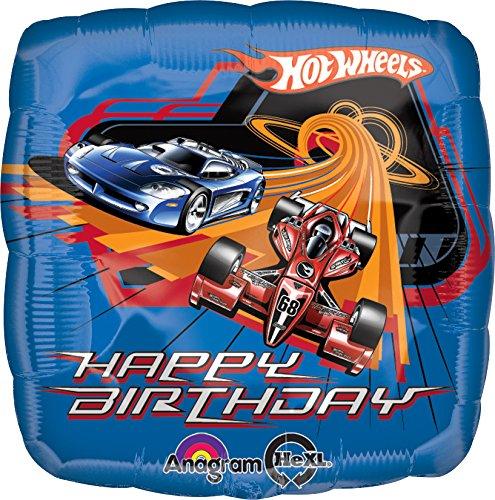 18'Hot Wheels Racing Cumpleaños Globo (1ct)