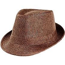 2e8a2e1dc7324 Sombrero de Paja para Mujer-BBestseller ala Ancha Plegable Viajes Sombreros  de Sol de Verano