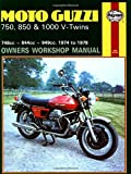 Moto-guzzi 750, 850 and 1000 V-twins Owners Workshop Manual, No. M339: '74-'78