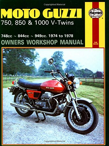 Moto Guzzi V-Twins Owner's Workshop Manual (Motorcycle Manuals)