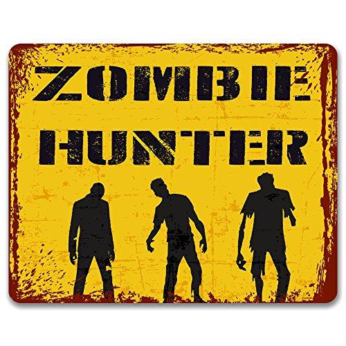 zombie Hunter-effetto vintage metal Sign/Plaque