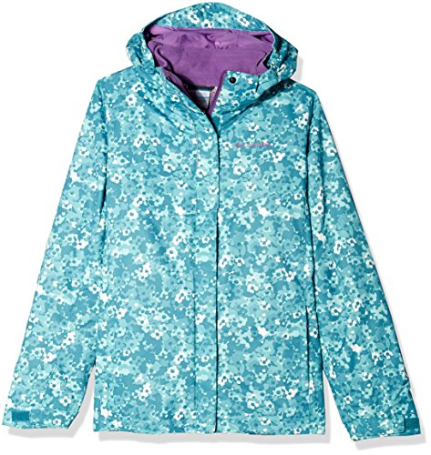 Columbia Girl 's Bugaboo-in Ski Jacke Hose, Mädchen, Pacific Rim Floral Camo (Columbia Fleece-jacke, Gelb)