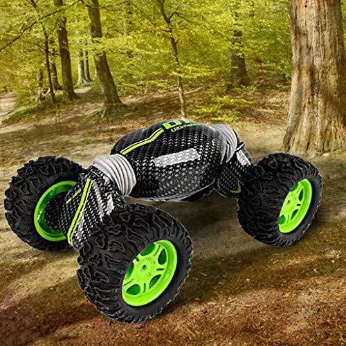 Mitlfuny Kinder Erwachsene Entwicklung Lernspielzeug Bildung Spielzeug Gute Geschenke,4WD 2,4 GHz Ferngesteuertes Auto Doppelseitig drehbare Fahrzeuge 360 ° Flips