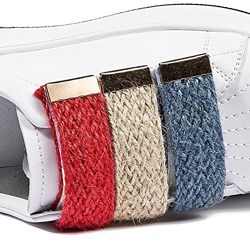 FUFU Sneakers delle donne Primavera Estate Autunno Inverno Comfort PU Outdoor Athletic Casual piatto Bianco per 18-40 anni ( Colore : Rosso , dimensioni : EU38/UK5.5/CN38 ) Nero