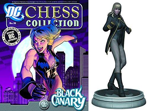 Preisvergleich Produktbild Figuren des Schachspiels Harz DC Comics Chess Collection Nº 16 Black Canary