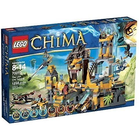 LEGO Chima 70010 The Lion CHI Temple Children, Kids, Game by Avner-Toys