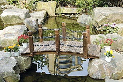 HTI-Line Gartenbrücke Sommerset Zierbrücke NEU OVP