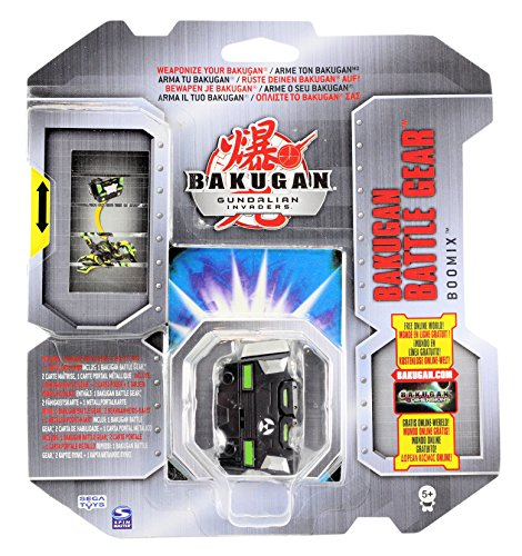 Bakugan Gundalian Invaders Battle Gear Darkus Black Boomix 70G [New in Package] by Spin Master