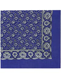 Purple Neat Paisley Design Bandana or Large Handkerchief