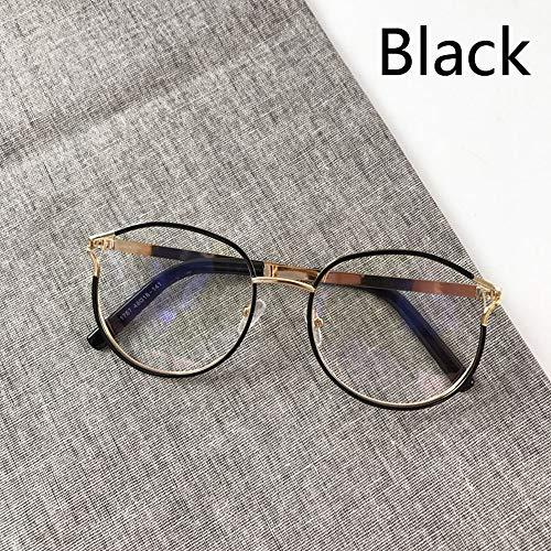 LAMAMAG Sonnenbrille Frauen Runde Stil Brille Mode Brillengestell Frauen Männer Klare Linse Eyewear Oculos De Sol, 2
