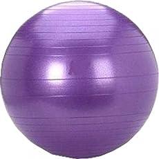 Cosco Anti Burst Gym Ball with Foot Pump, 55cm