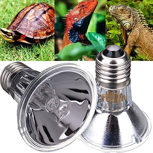 Tutoy E27 Reptil Halogen Scheinwerfer Warm Basking Full Spectrum Uva Uvb Glühbirne (Mädchen Kostüm Reptilien)