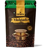 Continental Malgudi Filter Coffee Powder 266gm Pouch ( 200g + 66g Free ) (80% Coffee - 20% Chicory)