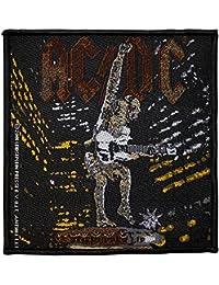 Écusson AC/DC Stiff Upper Lip Patch tissé 10x 10cm