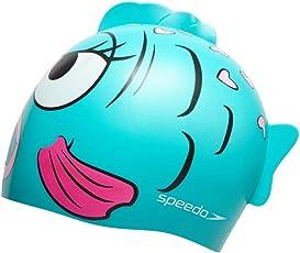 Speedo 808769A621 Blend Squad Swim Cap, Baby (Blue)