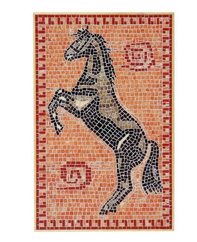 "CUIT 34,5x 53,5cm ""Pferd"" Mosaik Bild (Mehrfarbig)"