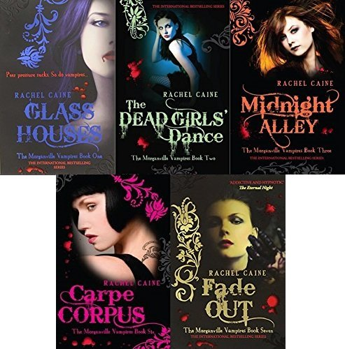 morganville-vampires-series-1-by-rachel-caine-5-books-collection-set-glass-houses-the-dead-girls-dan