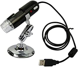 Microware Digital USB Microscope 1000 Zoom, 8 LED 1280x1024 Resolutions