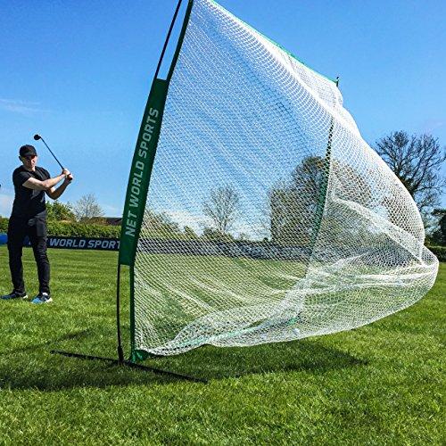 FORB Portable Golf Schlagnetze – 2.13 m x 2.13 m Garten & Außenbereich Feld Praxis Golfübungsgeräte Test