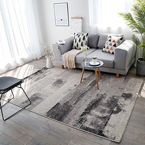 RUG LUYIASI- Moderner Wohnzimmer-Zusammenfassungs-Bereichs-Wolldecken-Haushalts-Wirtschafts-Teppich Non-Slip mat (Farbe : B, größe : 160x230cm) - Wirtschaft Greifer