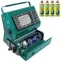 Calefactor de gas portátil al aire libre pesca Camping 1,3 kW calefactor de Gas