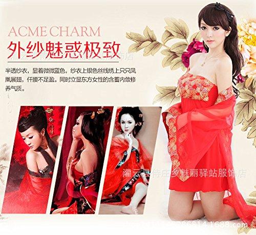 SUNZHENSexy lingerie nuziale della dinastia Tang accappatoio