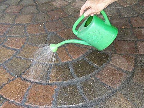 Mainbrick Pflasterfugenmörtel Fix-Fertig Fugenmörtel Tiefschwarz 15 kg - Keine Unkraut, Wasserdurchlässig,