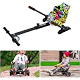 Wechan Hoverboard Go Kart Adjustable Hoverkart Seat For Electric Self Balancing Scooters - Fits All Hover Board Sizes…