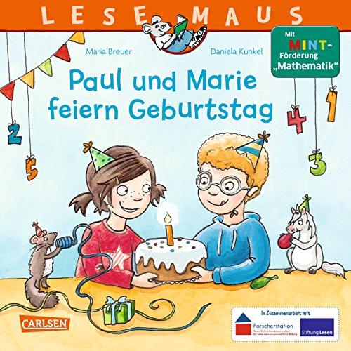 """Preisvergleich Produktbild LESEMAUS 183: Paul und Marie feiern Geburtstag: Mit MINT-Förderung """"Mathematik"""""""