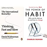 Thinking Fast and Slow + The Power of Habit(Set of 2 Books)