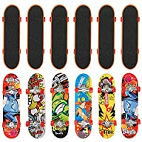 The Twiddlers 12 Finger Skateboards | 12 Designs Kids Party Bag Fillers | Toy Favours Carnival Prizes School Classroom Rewards | Birthdays and Christmas Halloween Trick or Treat Goody