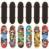 THE TWIDDLERS 12pcs Monopatines para Dedos | Mini Diapasón | Fingerboard Finger Skateboards | Detalles De Fiesta | Navidad, Cumpleaños, Halloween Regalos Niño Juguetes Piñata